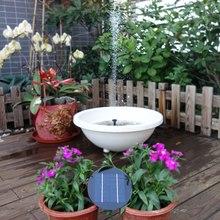 Fountain Solar-Panel Garden Pond Pool-Decoration for The Bird Bath 9V 2W/3W