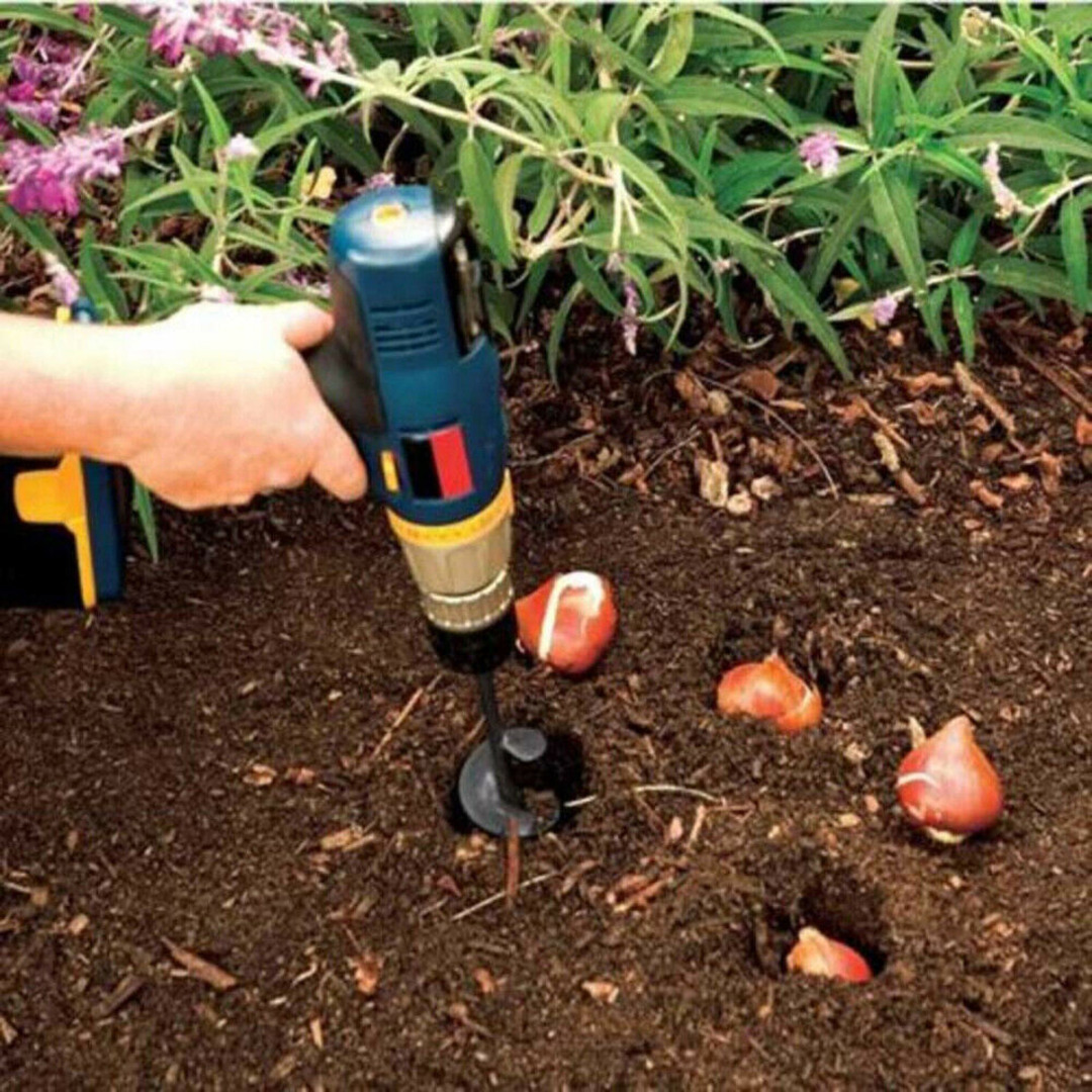 New Home Yard Garden Earth Land Digging Holes Tool Drill Bit Farm Planting Auger Digging Spiral Bit For Electric Cordless Drill in Drill Bits from Tools