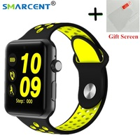 Bluetooth Smart Watch Clock Heart Rate DM09 Plus Smartwatch HD Screen Sync Notifier Support SIM Card