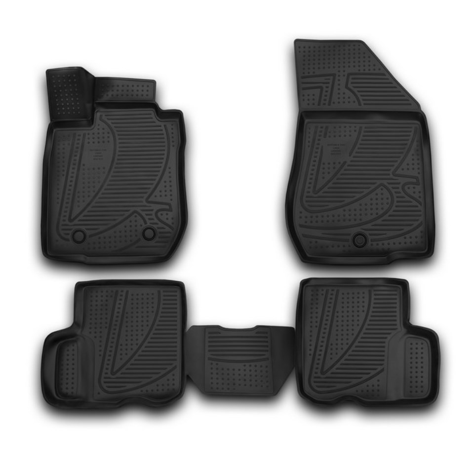 3D Floor mats for Lada Largus Element F620250E1 creative removable 3d beach toilet floor sticker