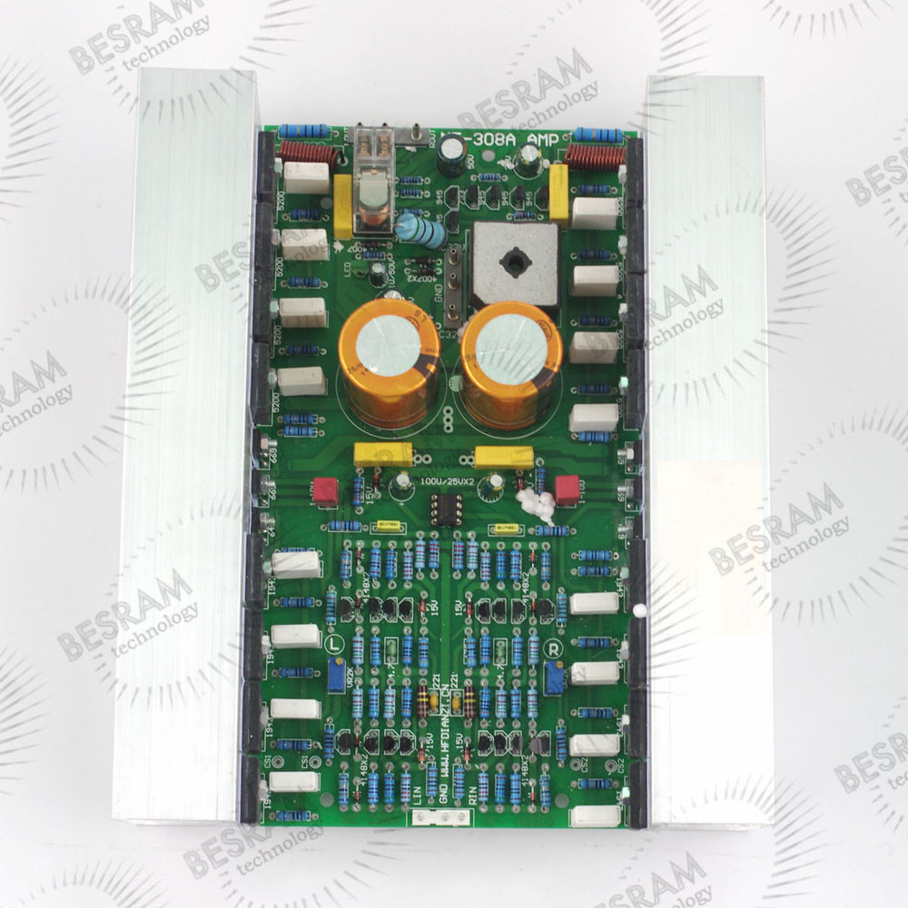 ME-308 Pure DC Minus Feedback Class A amplifier Board no heatsink assembled mt 150 150w class a ab power amplifier board no heatsink