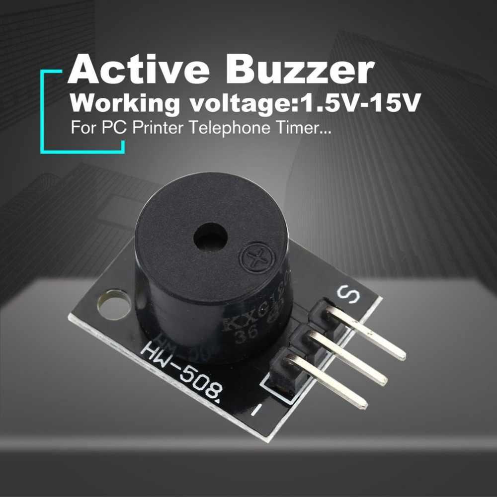 Módulo zumbador activo KY-012 para Arduino AVR PIC altavoz activo zumbador modo alarma accesorios para PC impresora temporizador de teléfono