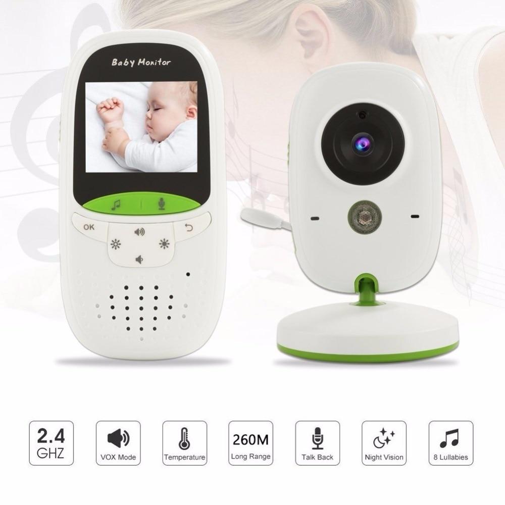 Babykam video nanny baby monitor 2.0 inch IR Night Vision Temperature Monitor Lullaby Intercom digital baby monitor with camera