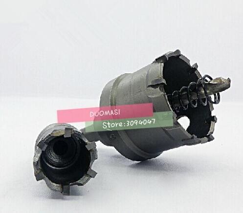 1pcs 14MM~100MM Carbide Tip Bit Metal Cutter Cutting Hole Saw Set Holesaw,Carbide Drill Bit Set(20/30/40/50/60/80/90/100mm)