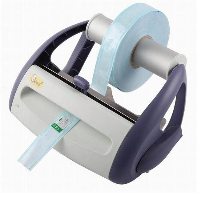 2016 New Design 110~230V 50~60Hz 100W Dental Instruments Sealing Machine Medical Autoclave Sterilization Packaging Machine