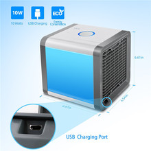 Artic Air Cooler Fan Personal Space Arctic Air Cooler Portable Desk Fan Mini Air Conditioner Device Cool Soothing Wind