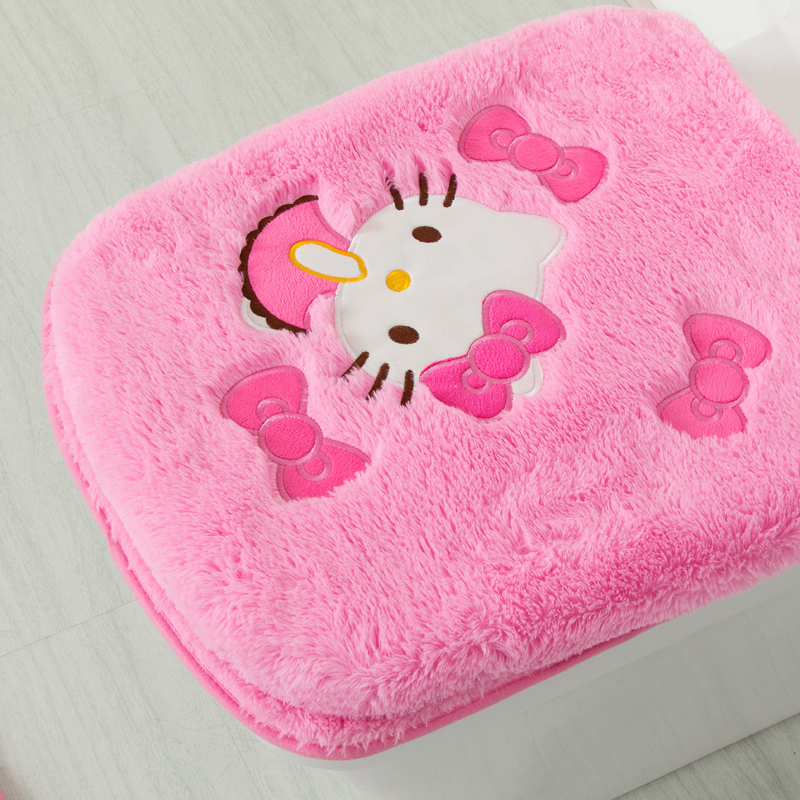 Hello Kitty Cute Bathroom Toilet Seat Lid Cover Bath Mat Holder Tissue Holder