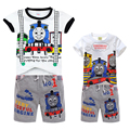 Children Thomas Sets And Friends Kids Boys Clothes hoodies T Shit+ Beach Pants Shorts Summer Child Baby Boy Twinset Clothing