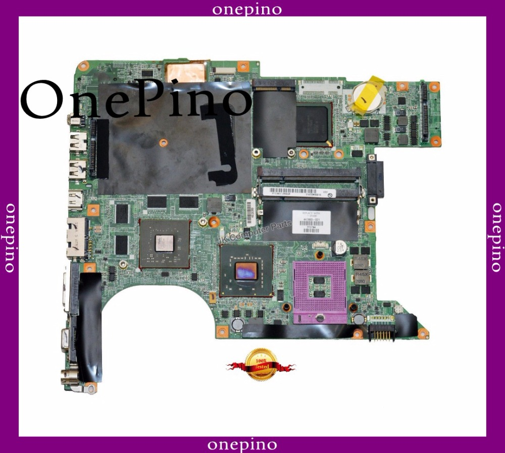 Give CPU free 461069 001 Top quality for hp dv9000 motherboard PM965 motherboard fit for 447983