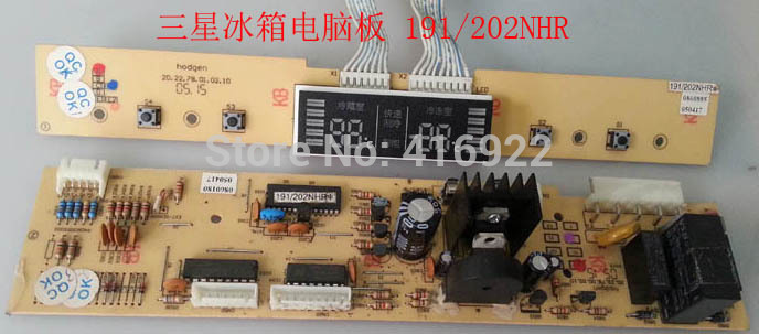 95% new good working 100% tested for Samsung refrigerator pc board Computer board 191/202NHR on sale rsag7 820 4737 roh led39k300j led40k160 good working tested