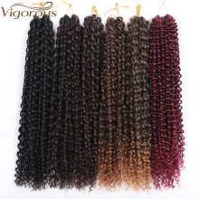 Vigorous Passion Twist Hair 18 Inch Long Bohemian Braid Freetress Crochet Braiding 22 Strands Synthetic Natural Extension