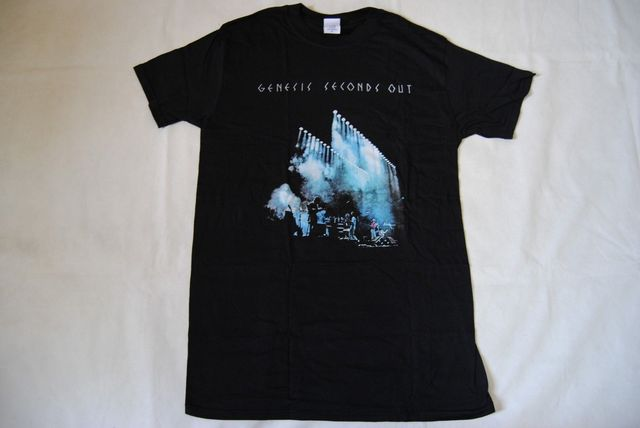 GENESIS SECONDS OUT T SHIRT...