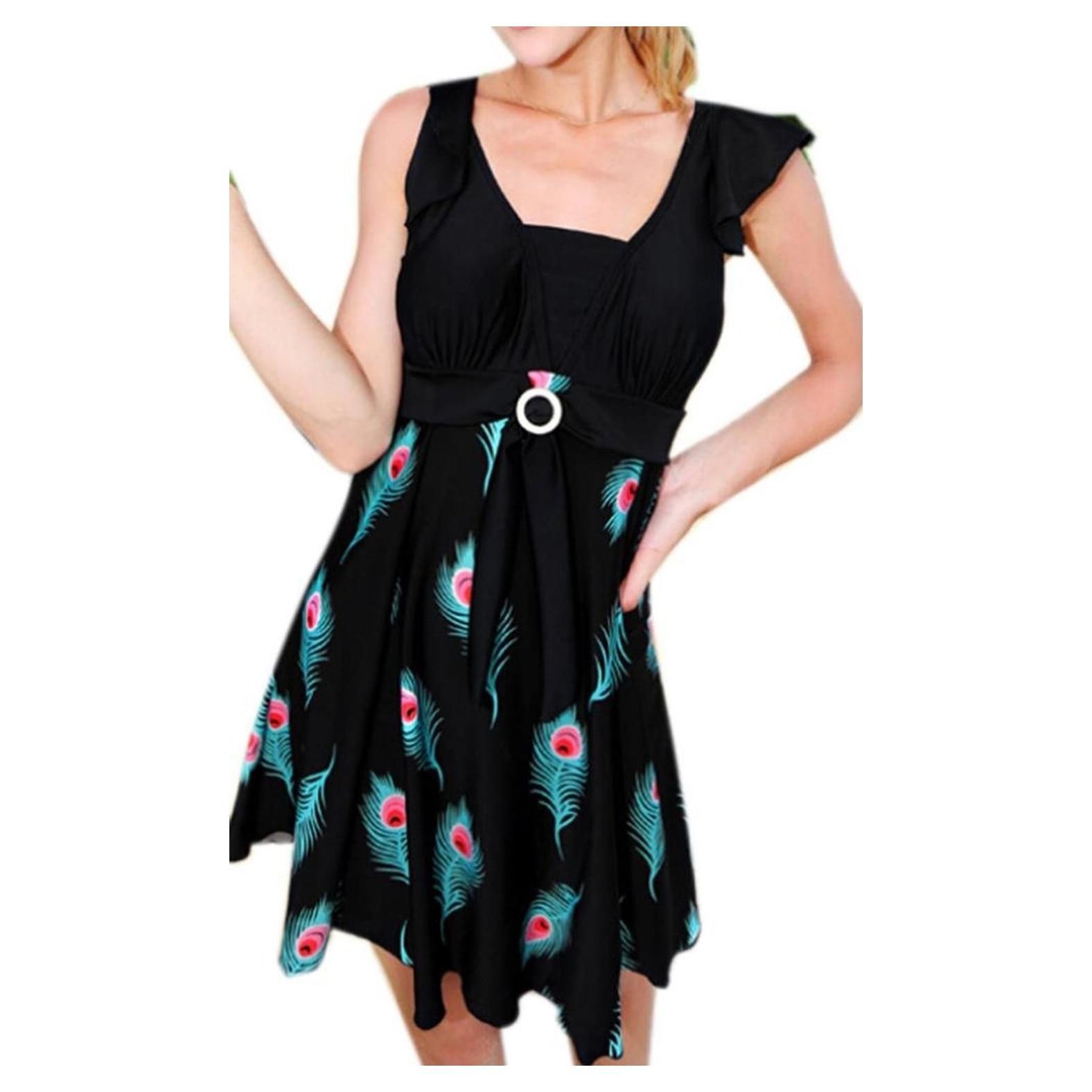 ①Super verkauf frauen Beachwear Einteilige Badebekleidung Plus ...