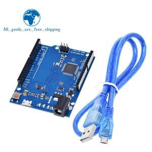 Leonardo R3 Microcontroller Atmega32u4 Development Board With USB Cable Compatible For Arduino DIY Starter Kit(China)