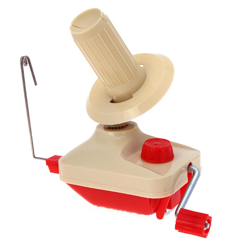 Bola de cuerdas Winder Lana Mano de Hogares Operado Swift Hilados de Fibra Bobinadora Para Enrollar el Cable de La Máquina de Lana Hilados Craft