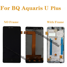 for BQ Aquaris U Plus LCD + touch screen components digitizer accessories replacement plus display