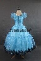 Alice in Worderland Party Alice Lolita Blue Girls Dress Cosplay Costume