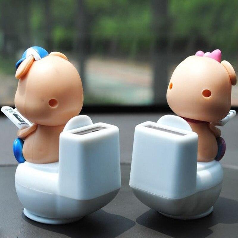 Украшение для автомобиля маленькая поросенок декорация для автомобилей Смарт мультфильм украшение для приборной доски милая кукла аксесс...