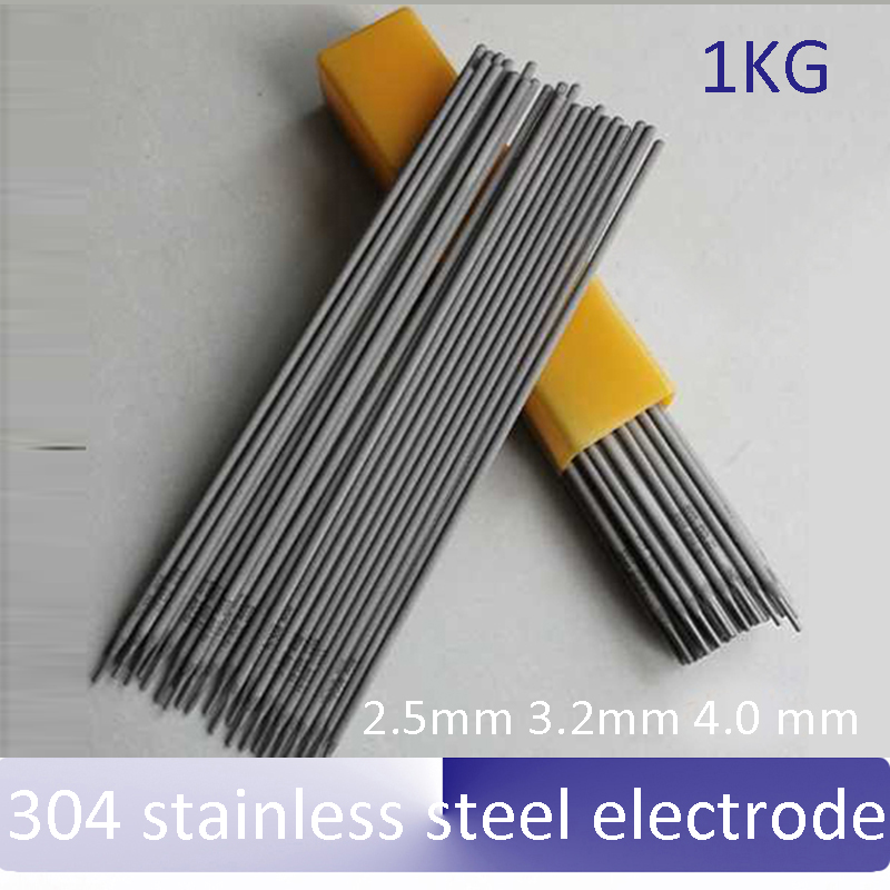 1kg 304 stainless steel electrode 2 5mm 3 2mm 4 0 mm A102 welding rod