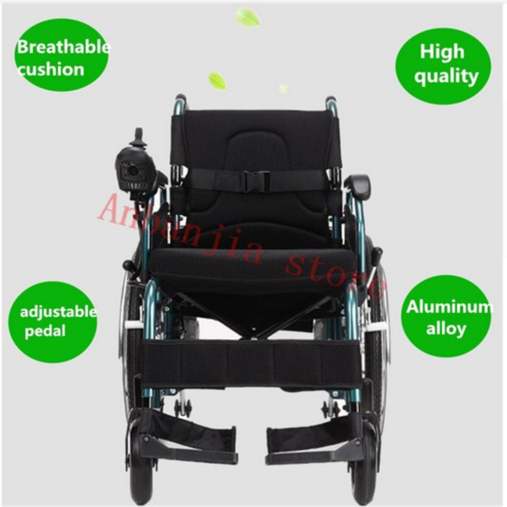 US $1200 0 |Drive Medical Cirrus Plus Folding Power Wheelchair with  Footrest and Batteries, big rear wheel-in Braces & Supports from Beauty &  Health