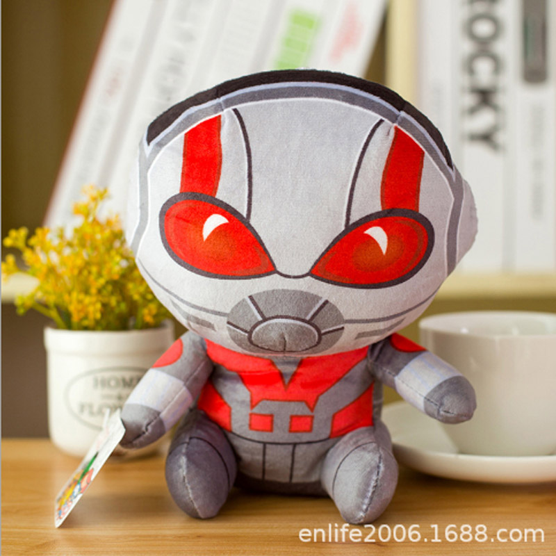 Marvel Мстители 4 плюшевые игрушки супергерой плюшевые куклы Капитан Америка, Железный человек Человек-паук Тор плюшевые мягкие игрушки Человек-паук - Цвет: Фиолетовый