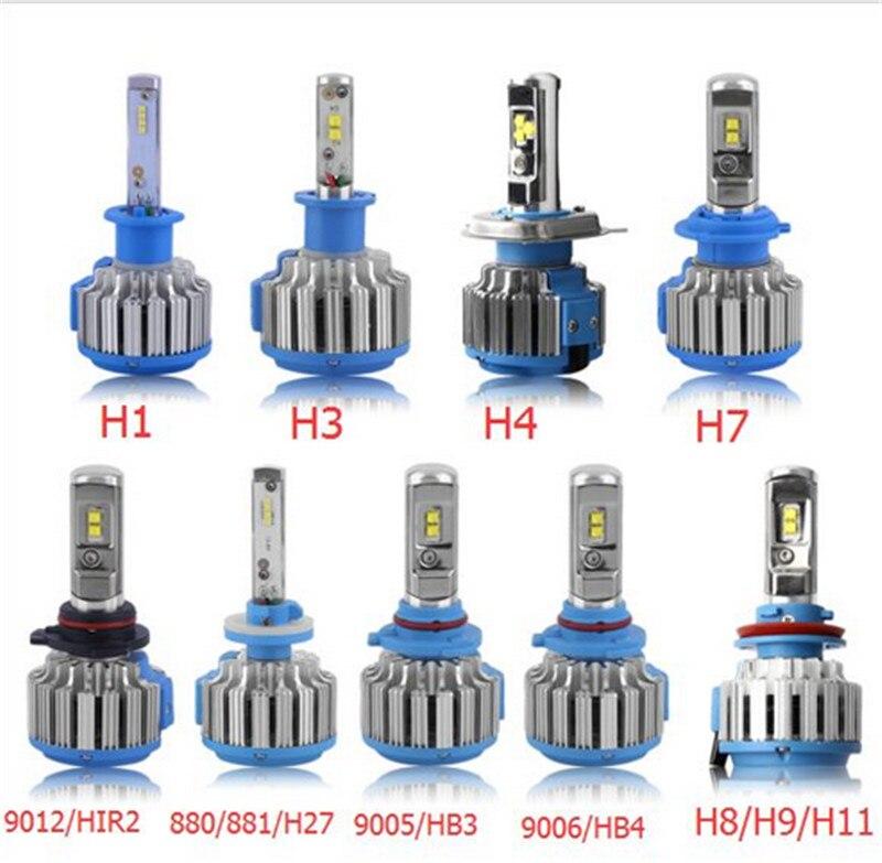 NEW7000lm 6000K H1/H3/H7/H8/H9/H11/9005/HB3/9006/HB4/880/881/H27/9012/HIR2/H4 Car High Power Light Car Headlight Auto Front Lamp