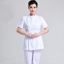 Летняя женская Больничная медицинская одежда стоматологическая клиника и салон красоты униформа медсестры модный дизайн slim fit Спецодежда
