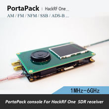 PortaPack H1 için HackRF bir 1 MHz 6 GHz SDR alıcı ve transfer AM FM SSB ADS B SSTV Ham radyo