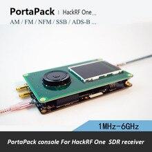 PortaPack H1 pour HackRF un récepteur SDR 1 MHz 6 GHz et transfert AM FM SSB ADS B SSTV