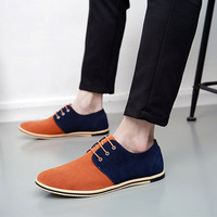 Men Leather Shoes Brand Casual Cow Suede Comfortable Formal Dress Shoes Men Flats casual sneaker shoes Big size 49 50 LK 47