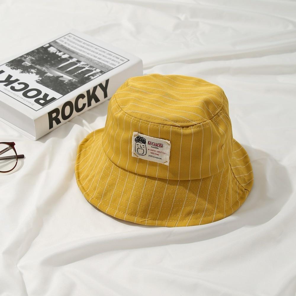 15a73c21276 Fashion Bucket Hat Women Cartoon Letter Bucket Hat Unisex Fisherman Hats  Men Women Cotton Street Hip Hop Fishing Cap Sun Trunk-in Bucket Hats from  Apparel ...