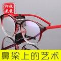 Новые мужские очки по рецепту равнина зеркало очки рамки для женщин ретро большие оправе TR90 очки 199