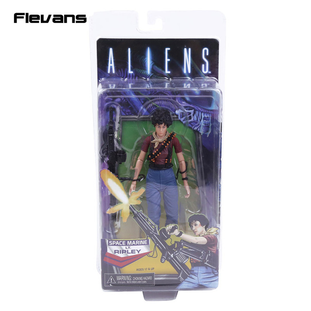 Aliens NECA LT. Ripley PVC Action Figure Collectible Modelo Toy