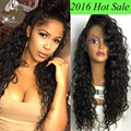 8A Wet Wavy Human Hair Lace Front Wig For Black Women Unprocessed Brazilian Virgin Human Hair Curly Full Lace Wig With Baby Hair