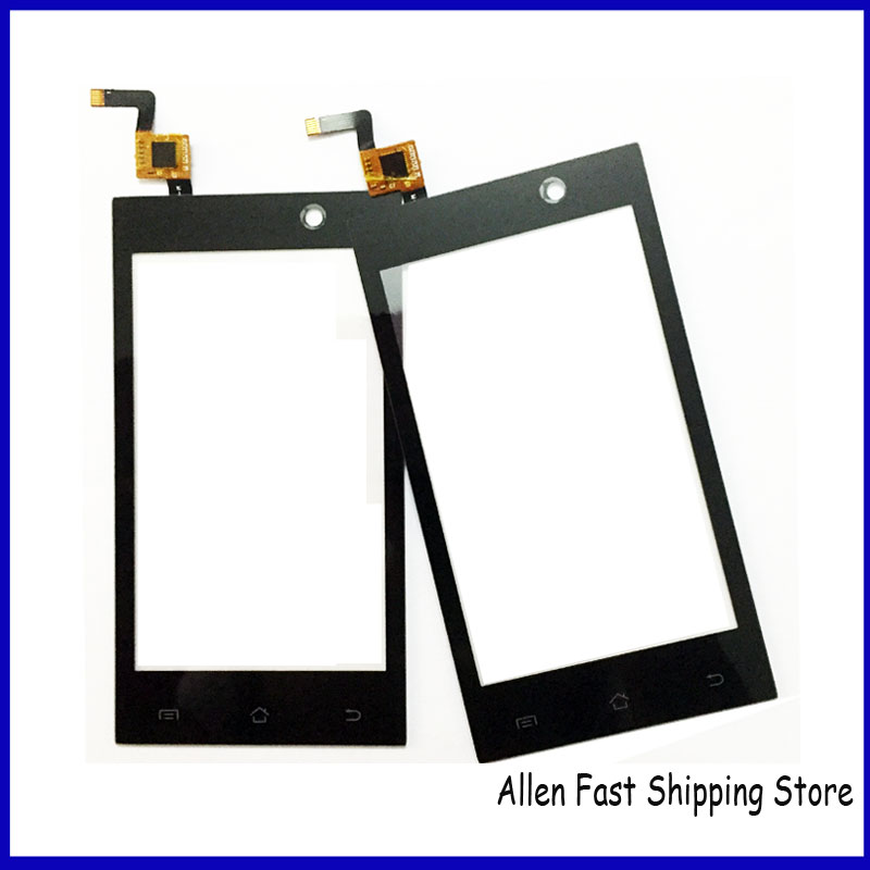 Original New Black Mobile Phone Touch Panel For Micromax A093 Touch Screen Digitizer Sensor Glass Front Glass Outer Lens