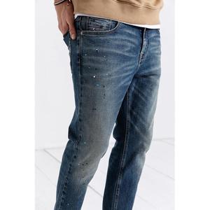 Image 3 - SIMWOOD 2020, pantalones vaqueros a la moda para hombre, pantalones tobilleros de tela vaquera, pantalones ajustados de talla grande, ropa de marca, ropa de calle, Envío Gratis 190021