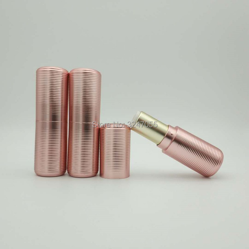 12.1mm Rose Gold Empty Lipstick Tube, Plastic Women Lip Makeup Tool, High Grade Lip Rouge Refillable Container, Lip Balm Bottle is new skiip32nab12t49 igbt module