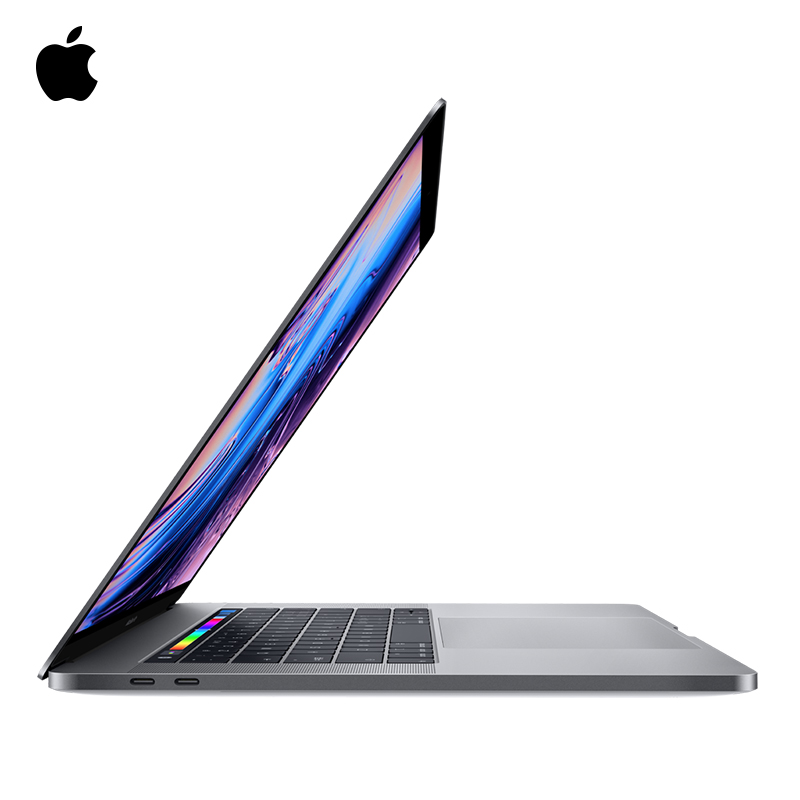 2019 model Apple MacBook Pro 15.4 inch 256G Touch Bar with integrated Touch ID sensor silver/space gray Light laptop notebook image