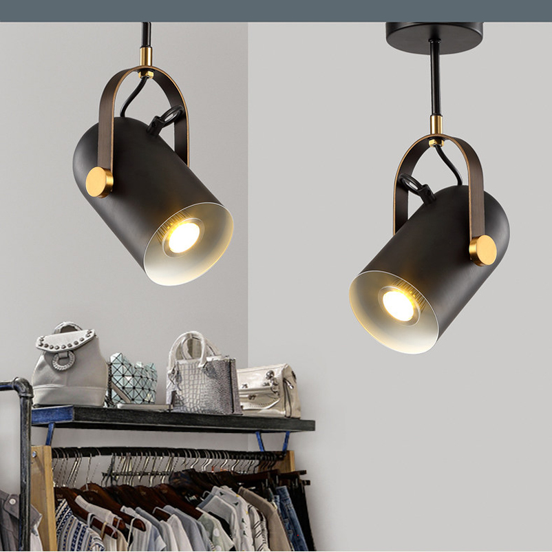 American Loft Retro Industrial Wind Ceiling Light Clothing