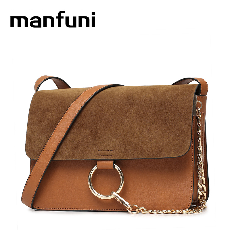 MANFUNI Suede Patchwork Fashion Casual Female Crossbody Shoulder Bags for women soft pu leather Small Cover bag bolsa feminina swdf 2017 new crossbody bag woman pu leather retro women shoulder bags casual fashion female small square bags mobile phone bag