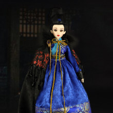 Fortune days doll East Charm Jinyi Wei guard including clothes outfit sand and packing box Exquisite doll suitable as a gift(China)