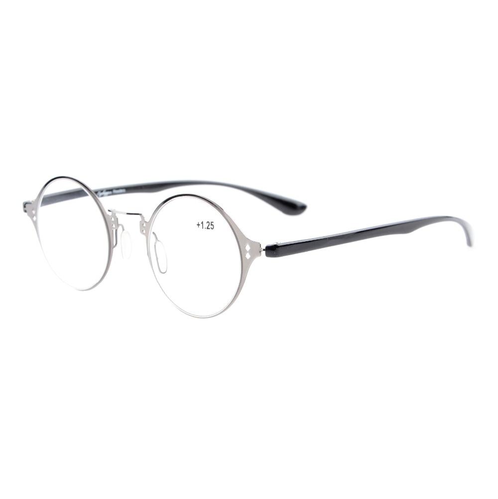 R12618 eyekepper ligero Flex ronda Gafas para leer con estilo único visión  clara + 0.50 ---- + 4.00 edb8b03cffe