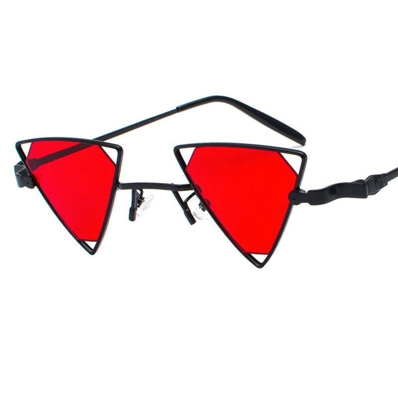 ALOZ MICC Fashion Triangle Sunglasses Women Men Vintage Metal Small Frame Sun Glasses Female Shades UV400 Q448 in Women 39 s Sunglasses from Apparel Accessories