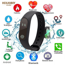 HOT Smart Band Fitness Bracelet HR Heart Rate Monitor Activity Tracker Watch Band Fit For IOS Xiaomi Honor PK MiBand 3/Fit Bit 4
