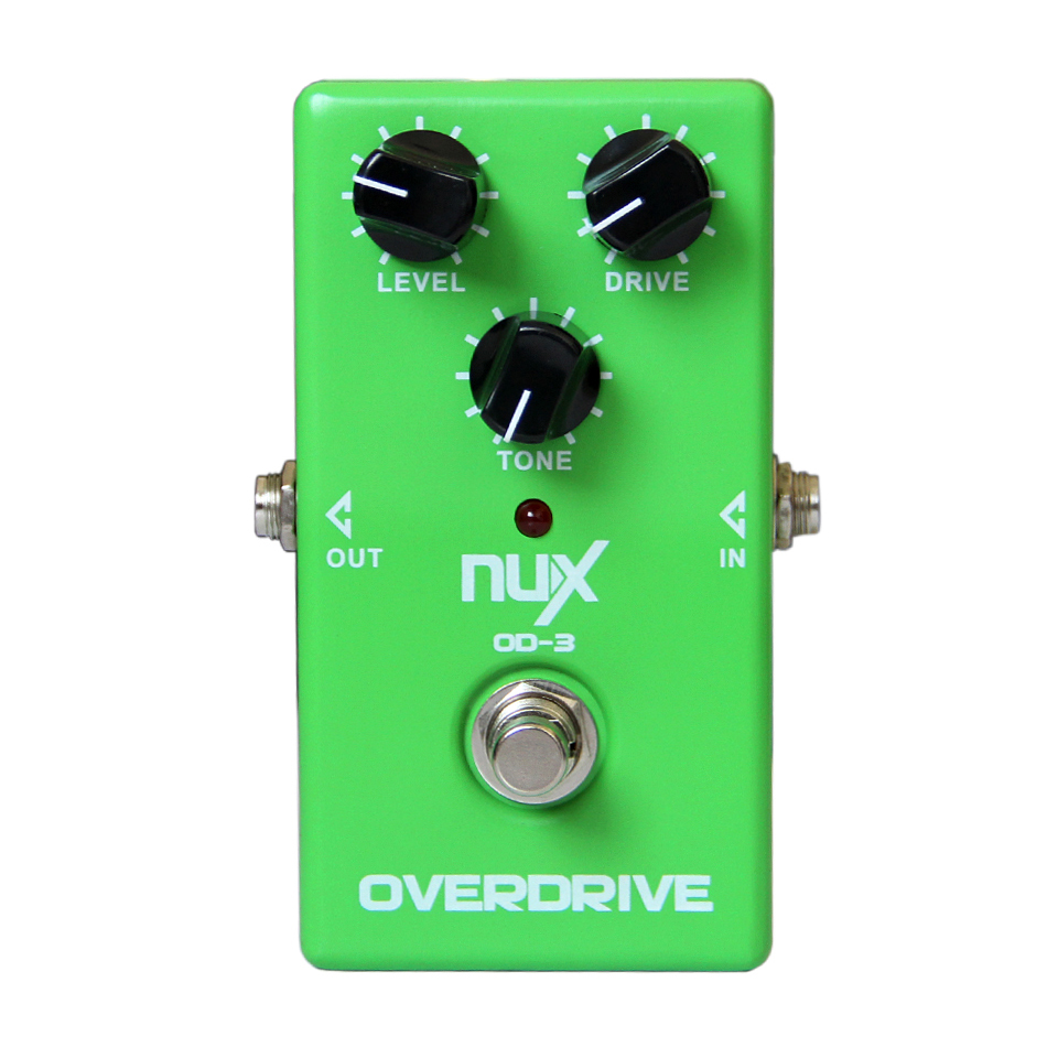 Nux OD-3 Vintage Overdrive Effet Guitare Pédale True Bypass Guitare Pédale Guitare Accessoires