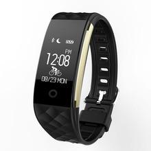 S2 Bluetooth Sensible Band Passometer Sleep Tracker Wristband Coronary heart Price Monitor IP67 Smartband Bracelet for Android IOS Telephone