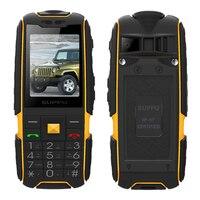 Russian Turkish Arabic Greek Long Standby Dual Card Big Voice FM 100 Real Waterproof Rugged Mobile