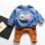 Pantalones del bebé 2016 nueva Primavera/Otoño bebé pantalones Monstruo terry harem ocasional polainas del bebé infantis