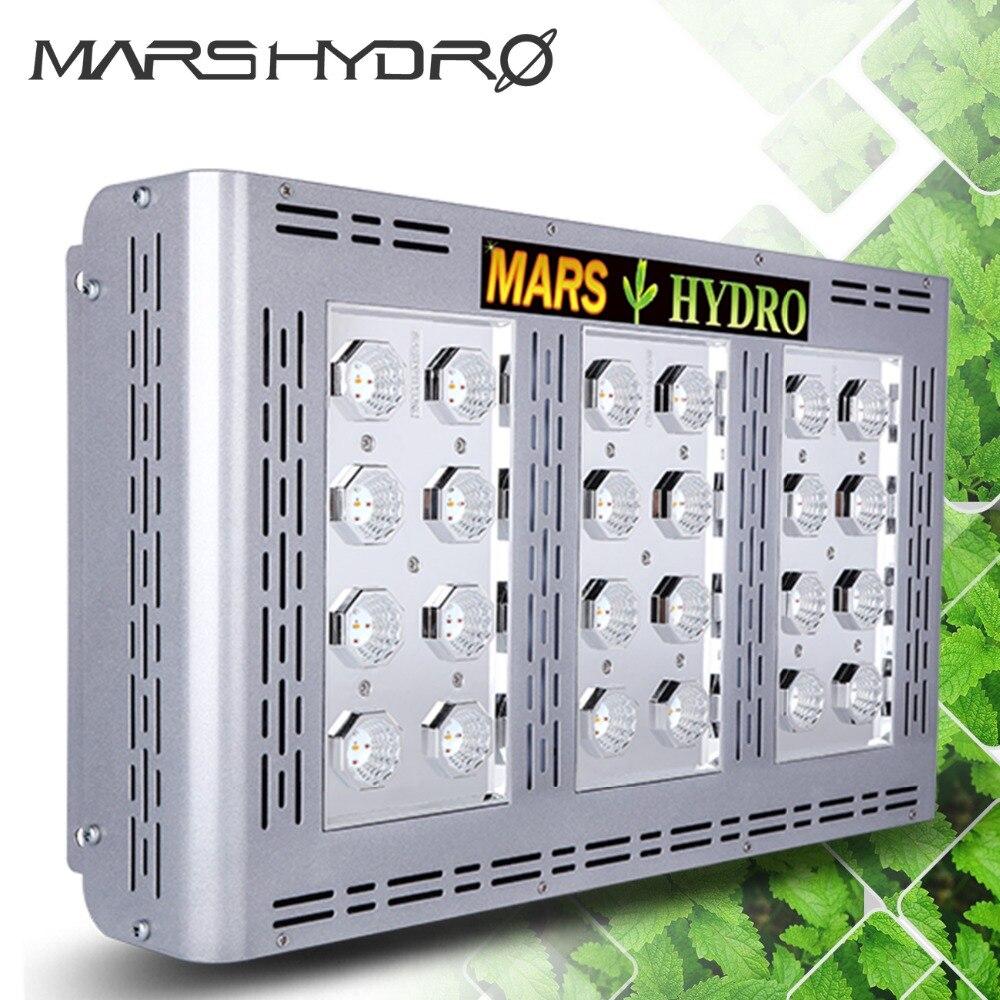 Mars Pro II Epistar 600 W LED Coltiva il Pannello Chiaro di Coltura Idroponica Spettro Completo Veg Fiore Piante D'appartamento In Tutto Il Mondo Magazzino