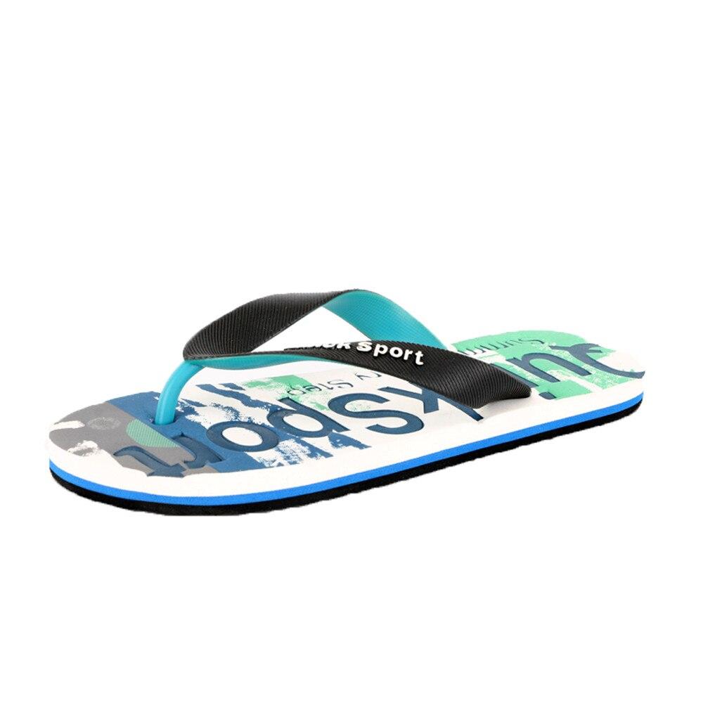 2019 Mens Flip Flops Sandals Casual Men Shoes Summer Fashion Beach Flip Flops Sapatos Hembre Sapatenis Masculino